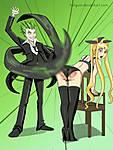 rachel_vs_hazama_commission_for_axbunny_by_stevemillersart-d8bn7bp.jpg