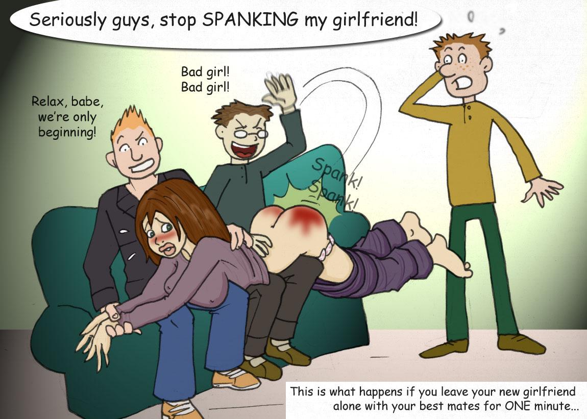 Art anime spanking