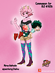 010 Mina Ashido spank Deku uploaded by BakShad