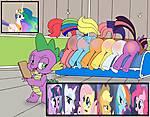 Spanked_ponies_