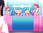 Pokemon_Daycare_Moon_Selene_and_Lillie_and_Shield_chan_Gloria_and_Marnie_3_by_barkyhito.png