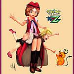 Serena_spanks_Bonnie_pokemon
